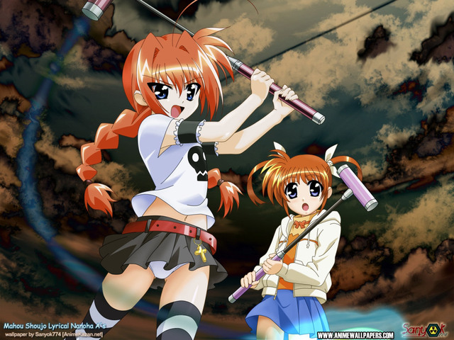 Mahou Shoujo Lyrical Nanoha Anime Wallpaper #3