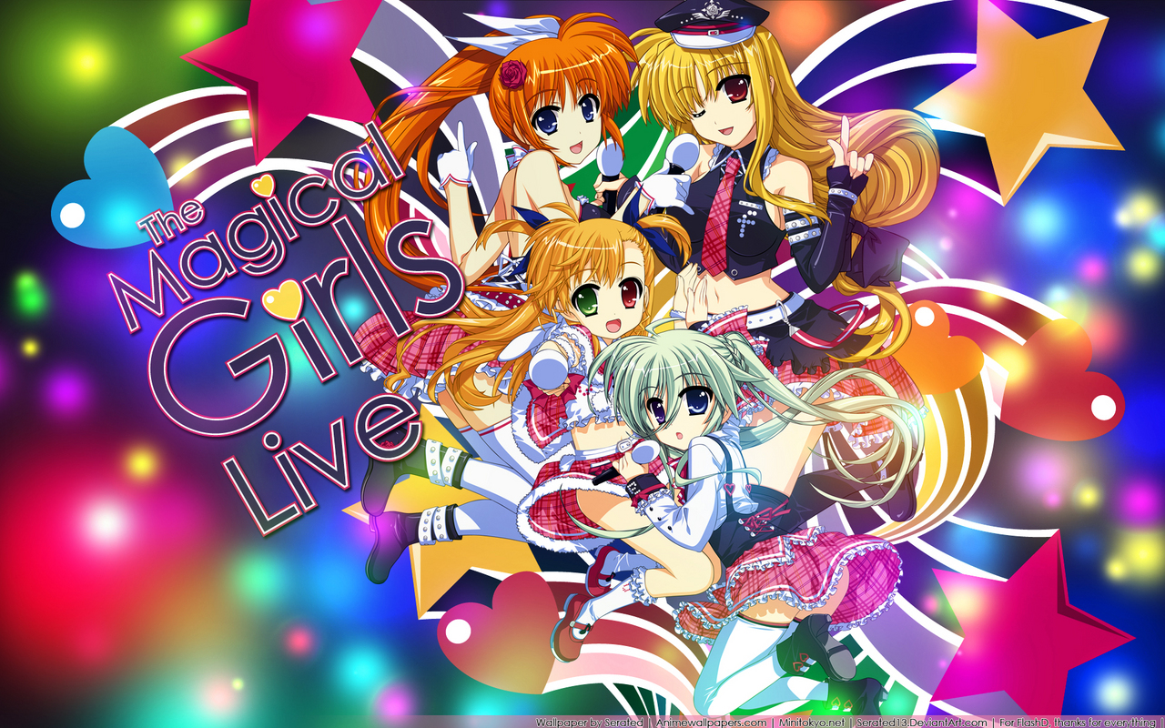 Mahou Shoujo Lyrical Nanoha Anime Wallpaper # 4