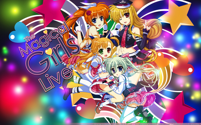 Mahou Shoujo Lyrical Nanoha Anime Wallpaper #4