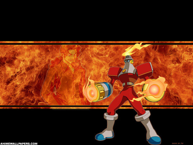 Megaman Warrior Anime Wallpaper #1