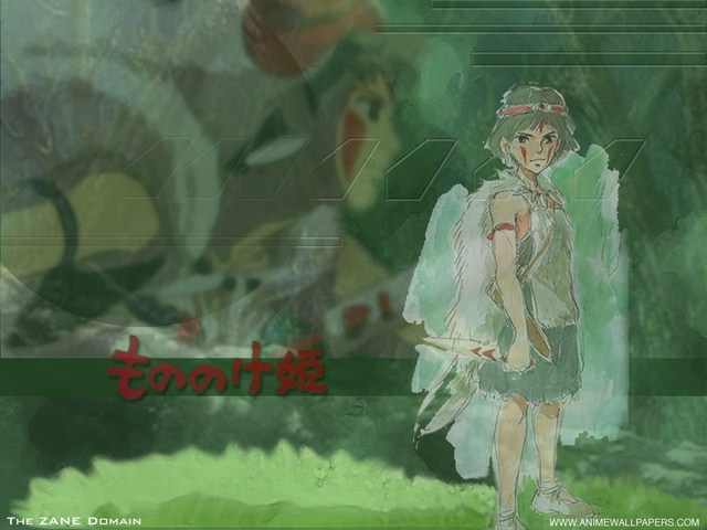 Princess Mononoke Anime Wallpaper #1