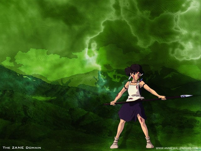 Princess Mononoke Anime Wallpaper #2