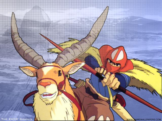 Princess Mononoke Anime Wallpaper #3
