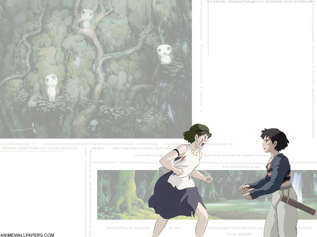 Princess Mononoke Anime Wallpaper # 4