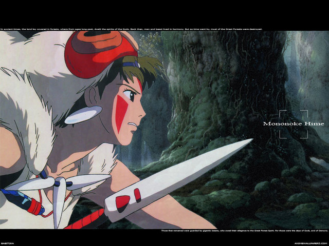 Princess Mononoke Anime Wallpaper #5