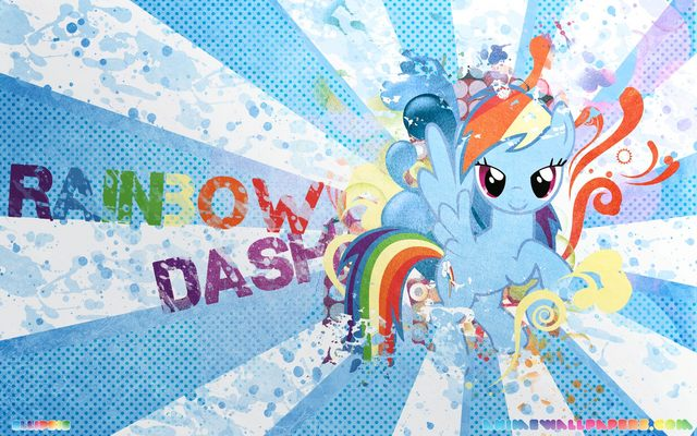My Little Pony: Friendship is Magic Anime Wallpaper #8