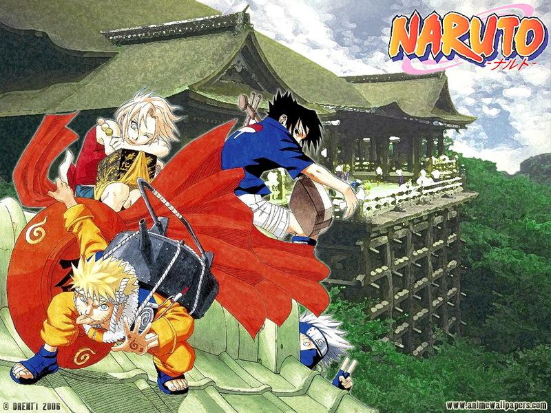 Naruto Anime Wallpaper # 8