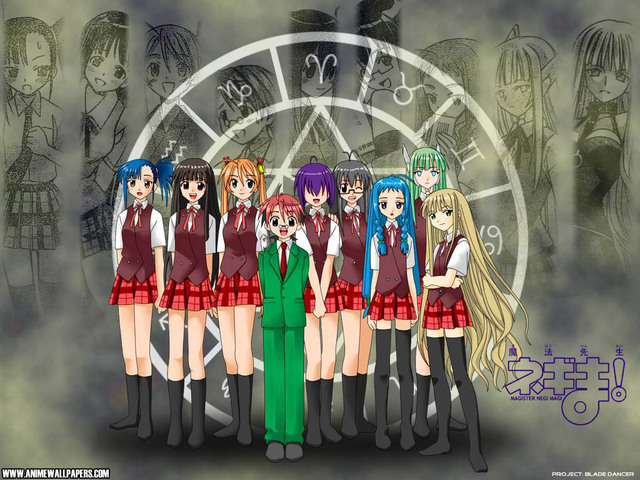 Negima Anime Wallpaper #14