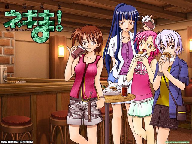 Negima Anime Wallpaper #1