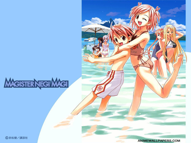 Negima Anime Wallpaper # 3