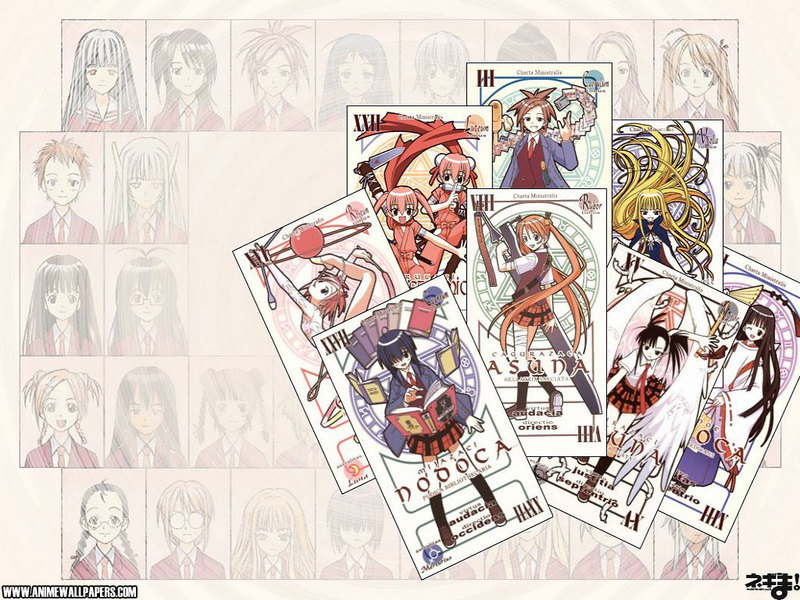 Negima Anime Wallpaper # 4