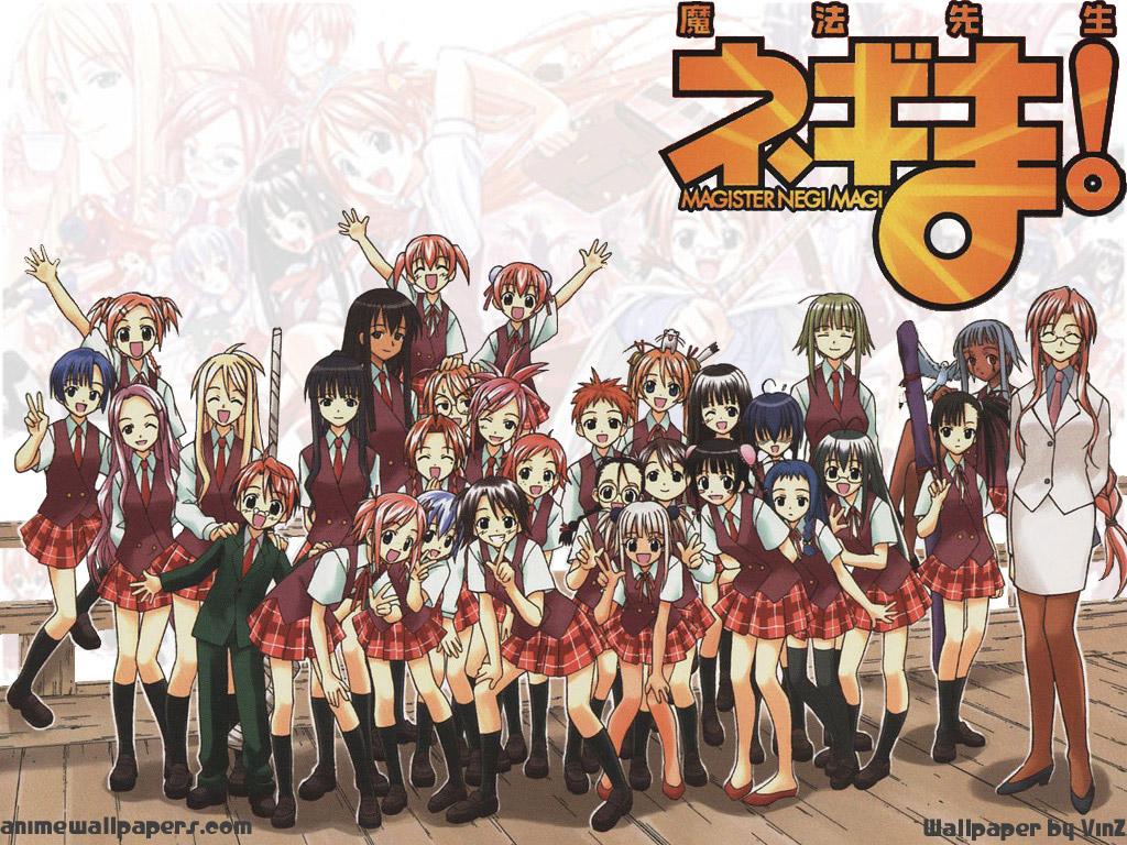 Negima Anime Wallpaper # 5