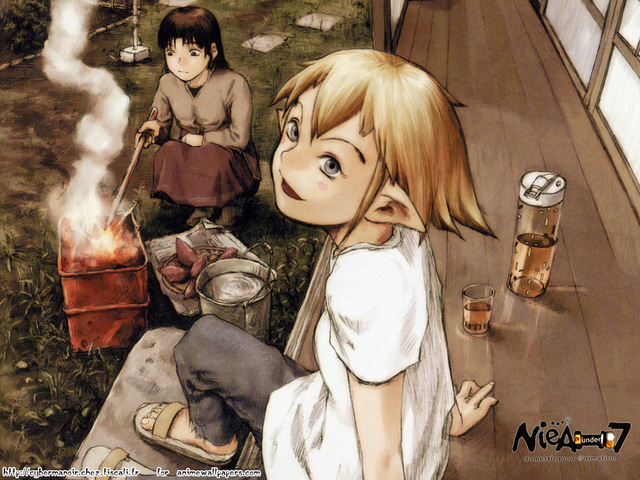NieA Under 7 Anime Wallpaper #3