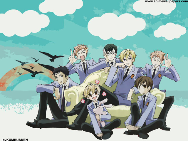Ouran High School Host Club Anime Wallpaper #3