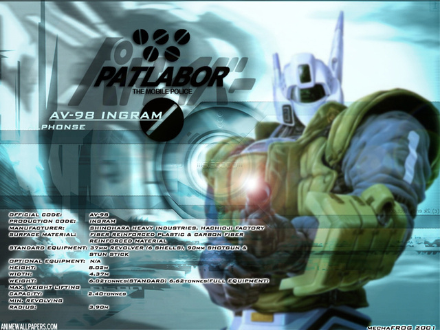 Patlabor Anime Wallpaper #3