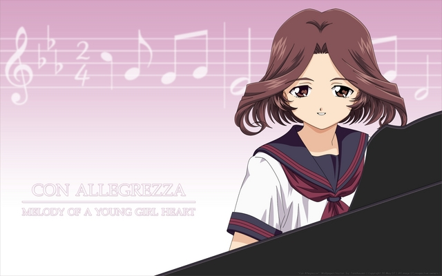 Piano Anime Wallpaper #1