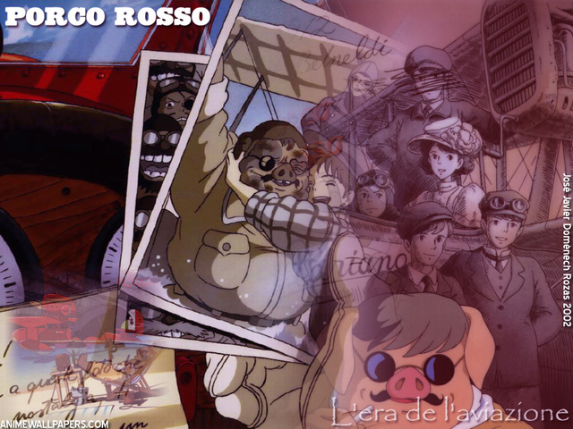 Porco Rosso Anime Wallpaper #1