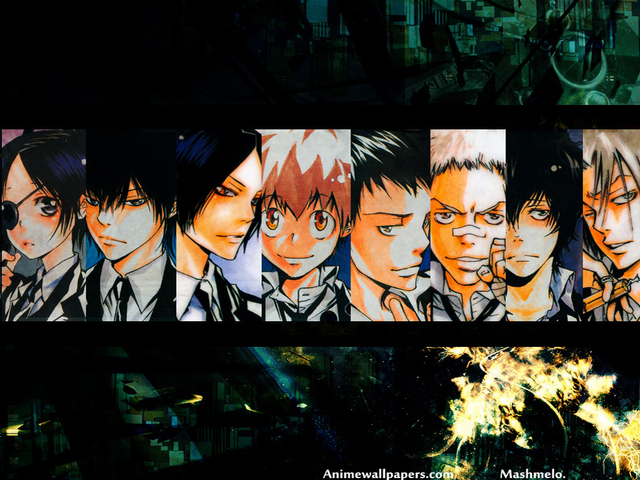 Katekyo Hitman Reborn! Anime Wallpaper #1