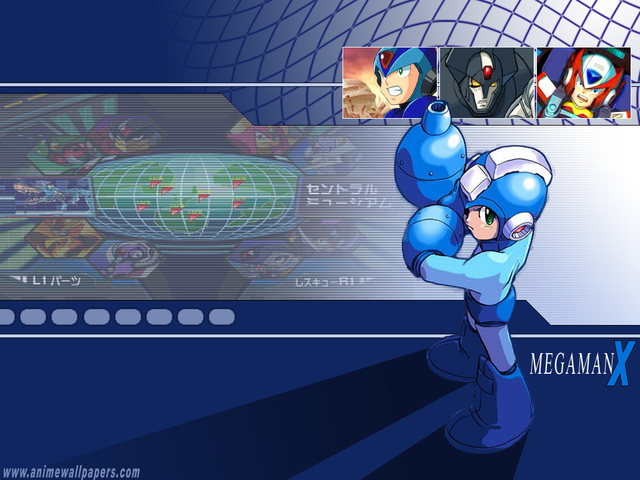 Rockman Anime Wallpaper #2