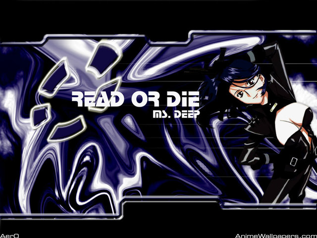 Read Or Die OVA Anime Wallpaper #2