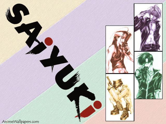 Saiyuki Anime Wallpaper #5