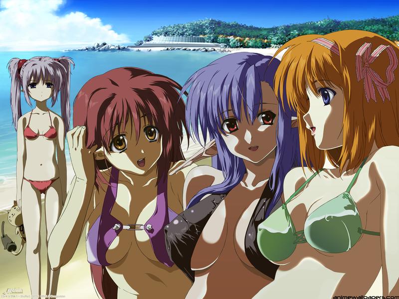 Shuffle! Anime Wallpaper # 3