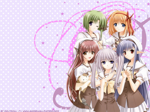 Shuffle! Anime Wallpaper #7
