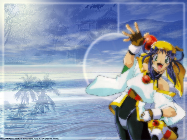 Saber Marionette J Anime Wallpaper #12