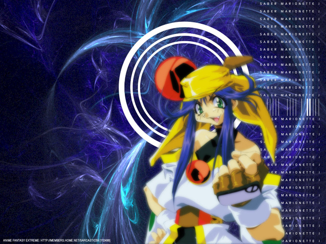 Saber Marionette J Anime Wallpaper #6