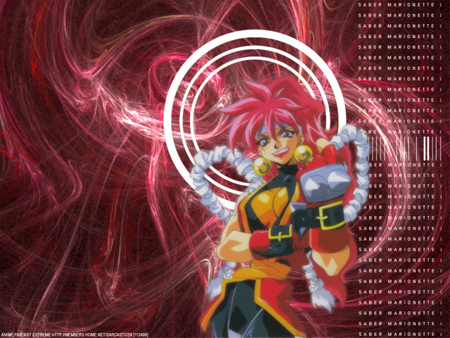 Saber Marionette J Anime Wallpaper #8