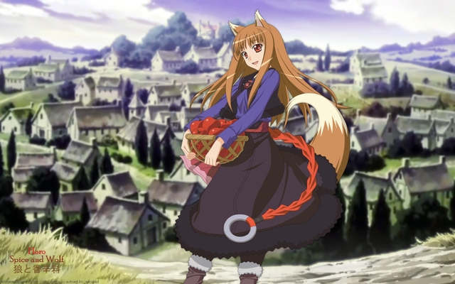 Spice and Wolf Anime Wallpaper #1