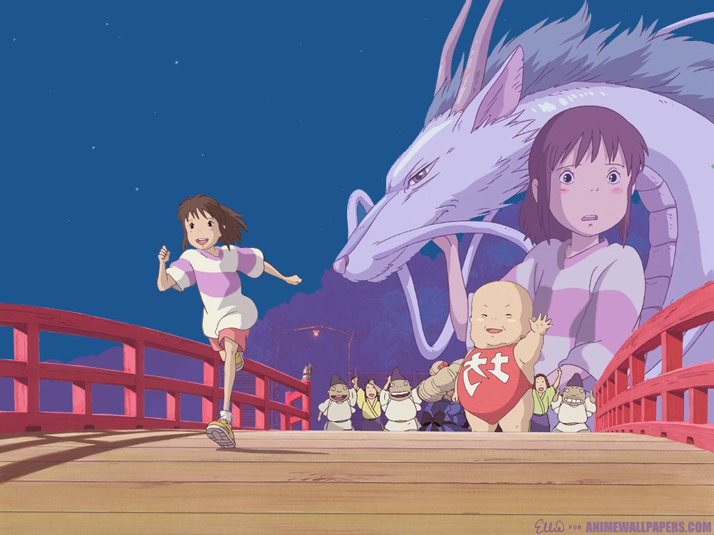 Spirited Away Anime Wallpaper # 3
