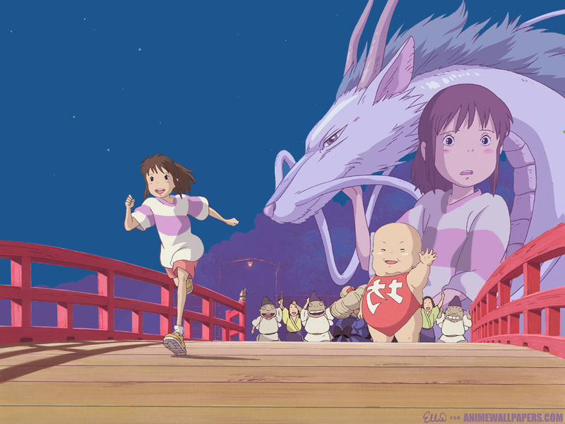 Spirited Away Anime Wallpaper # 3