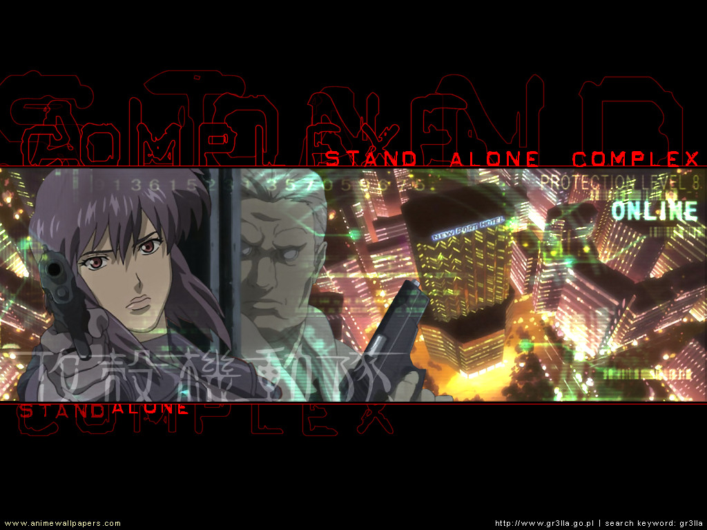 Ghost in the Shell: SAC Anime Wallpaper # 14