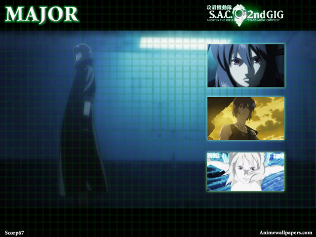 Ghost in the Shell: SAC Anime Wallpaper #15