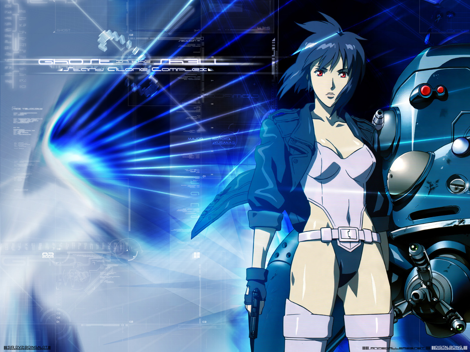 Ghost in the Shell: SAC Anime Wallpaper # 17