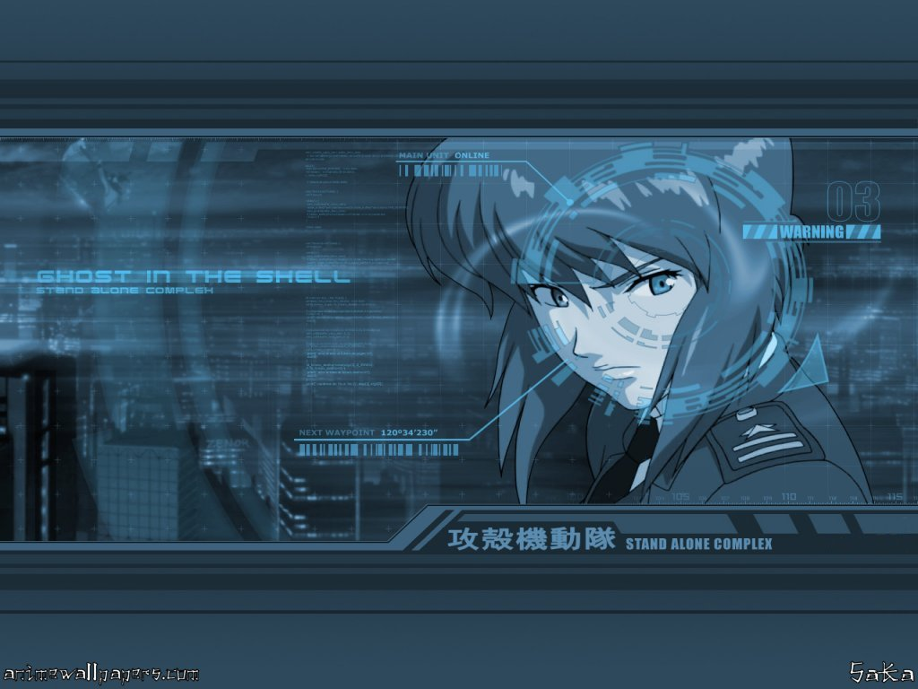 Ghost in the Shell: SAC Anime Wallpaper # 4
