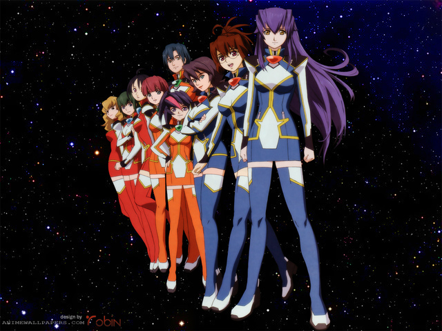 Starship Operators Anime Wallpaper #1