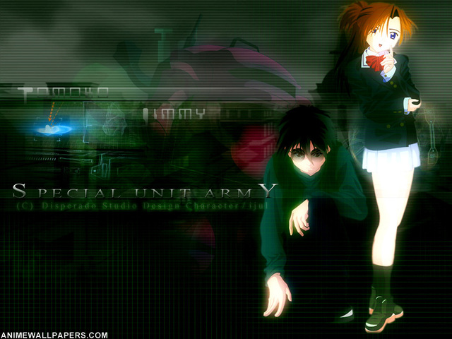 Special Unit Army Anime Wallpaper #2