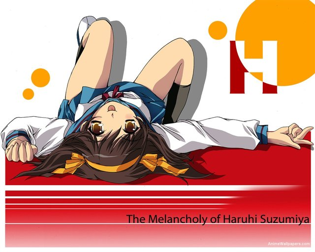 The Melancholy of Haruhi Suzumiya Anime Wallpaper #11