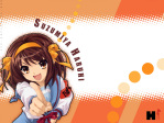 The Melancholy of Haruhi Suzumiya Anime Wallpaper # 17