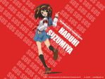 The Melancholy of Haruhi Suzumiya Anime Wallpaper # 1