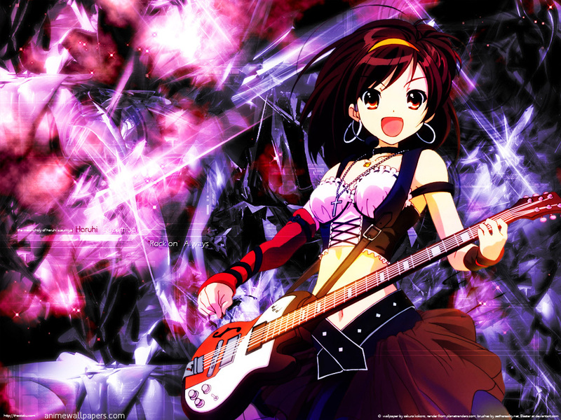 The Melancholy of Haruhi Suzumiya Anime Wallpaper # 30