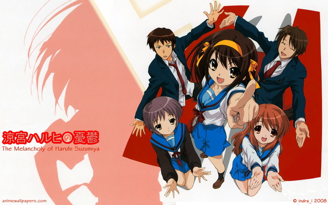 The Melancholy of Haruhi Suzumiya Anime Wallpaper #32