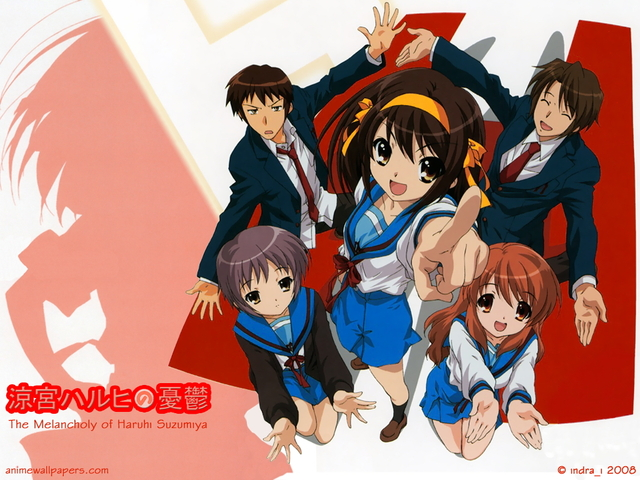 The Melancholy of Haruhi Suzumiya Anime Wallpaper #35