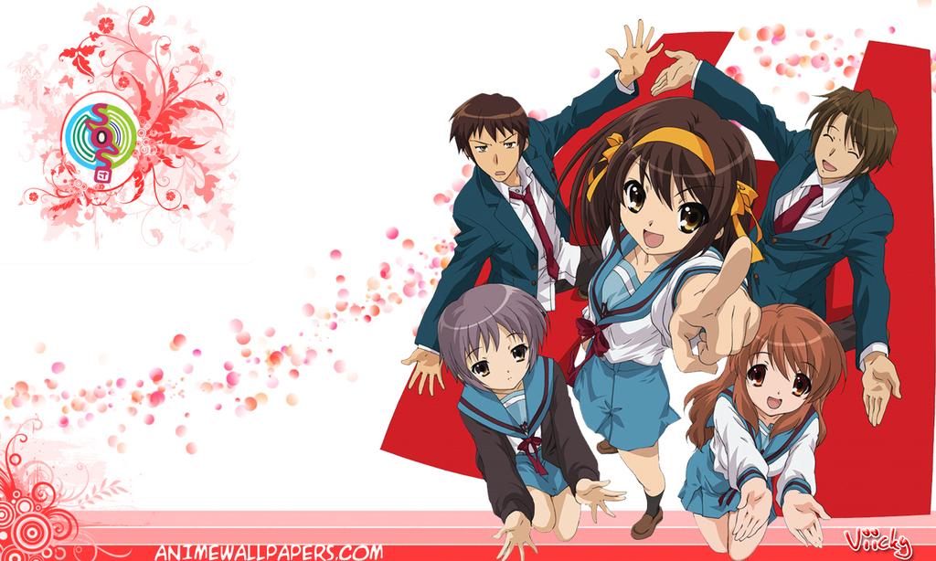 The Melancholy of Haruhi Suzumiya Anime Wallpaper # 36