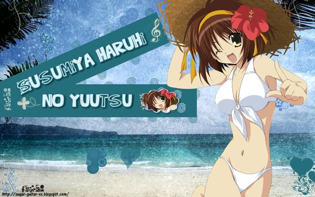 The Melancholy of Haruhi Suzumiya Anime Wallpaper #40