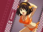 The Melancholy of Haruhi Suzumiya Anime Wallpaper # 8