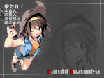The Melancholy of Haruhi Suzumiya Anime Wallpaper # 9