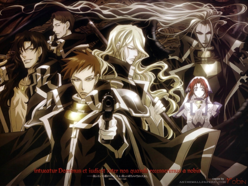 Trinity Blood Anime Wallpaper # 1